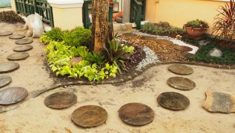 สวนหิน,การจัดสวน
