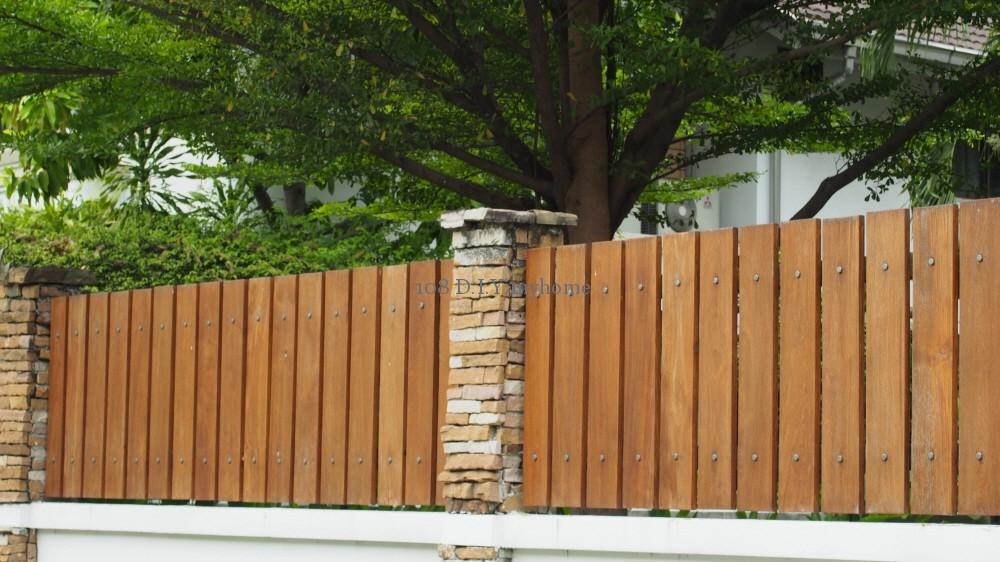 แบบรั้วบ้าน,รั้วบ้าน,รั้วไม้