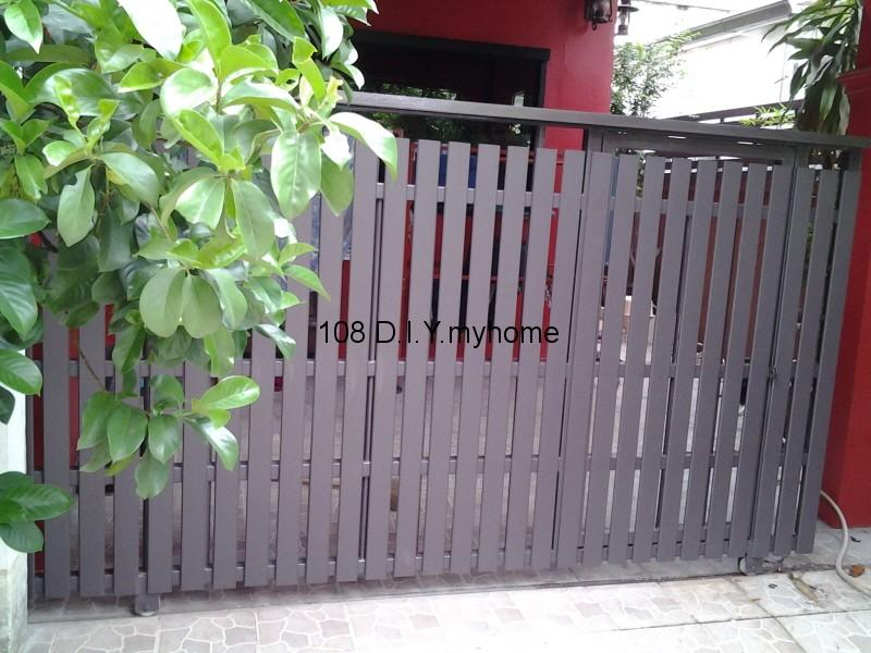 ประตูรั้วไม้เทียม