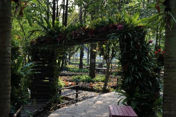 สวนรีสอร์ท,การจัดสวน,จัดสวน