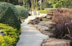 การจัดสวนสไตล์รีสอร์ทสวนแห่งธรรมชาติและการพักผ่อน