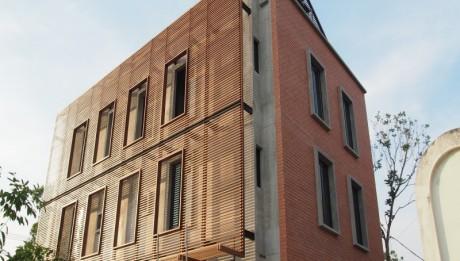 ไม้ระแนง,ระแนงกันแดด,ลดความร้อนอาคาร,ตกแต่งบ้าน