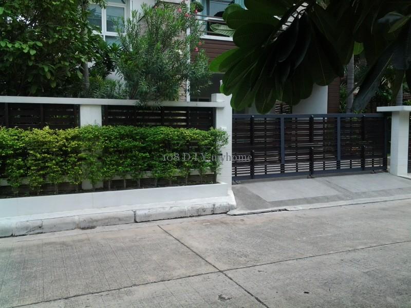 รั้วบ้าน,รั้วต้นไม้,แบบรั้วบ้าน